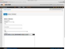 Crear nueva página en CMS Made Simple